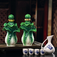 金杏 百财如意 清香型白酒500ml*2瓶 礼盒装