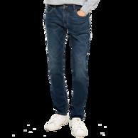 网易严选 男式基础合体窄脚牛仔裤 2色