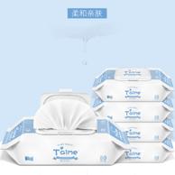 Taime 婴儿 手口专用湿纸巾80抽*5包
