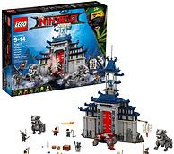 传说中的武器神殿!Lego 乐高 幻影忍者系列 70617