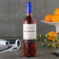 6件!智利进口 干露 珍藏桃红葡萄酒750ml