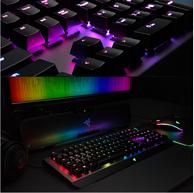 Razer 雷蛇 BlackWidow X 黑寡妇蜘蛛X幻彩版 悬浮式游戏机械键盘