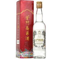 台湾三大名酒!2件 金门 58度 白金龙高粱酒600ml