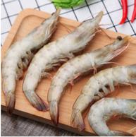 厄瓜多尔白虾1.8kg(50-60只/kg) *2件