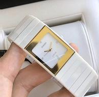 近4倍差价!Rado 雷达 Ceramica Jubile 系列 R21984702 女士镶钻陶瓷腕表
