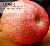 拍2件,廷优鲜 红富士苹果 10斤