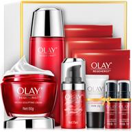 2件、新低:Olay 玉兰油 新生塑颜礼盒9件套(大红瓶面霜+活能水+眼霜+洁面+精华*2+大红瓶面膜*3)