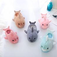 韩崽崽 可爱海豚 儿童拖鞋
