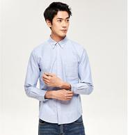 網易嚴選 男式經典牛津紡襯衫