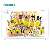 Hisense海信 LED55EC880UCQ 55英寸 超高清4K曲面液晶电视