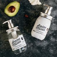 Amino mason 升级氨基酸头皮护理滋养套装 洗发水 450ml+护发素 450ml
