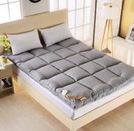 Xanlenss 轩蓝仕 素色加厚立体羽丝绒高回弹床垫 1.8米床 重12斤