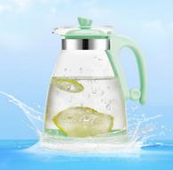 冷热可用!水之物语 耐高温冷水壶 1.9L