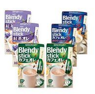 AGF 皇家红茶拿铁 110g*2+速溶袋装牛奶咖啡120g*2+三合一原味欧蕾牛奶风味速溶咖啡 120g