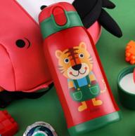 《鲜厨当道》指定品牌:Cuipo 316不锈钢 儿童保温杯600ml