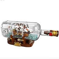 粉絲創作爆款!LEGO 樂高 Ideas系列瓶中船 21313  962顆粒