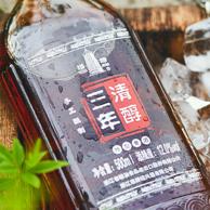 中华老字号 塔牌 三年清醇 绍兴黄酒500ml*6瓶 礼盒装