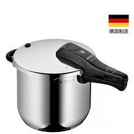 德国原产,WMF 福腾宝 PERFECT RDS系列 6.5L 不锈钢压力锅