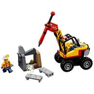 LEGO 乐高 城市系列 60185 强力巨石劈裂机 *2件