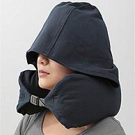 午休神器!米良品 日式U型枕连帽护颈枕