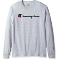 美亚凑单品:Champion 冠军 男士 100%纯棉 长袖T恤