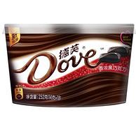 Dove 德芙 香浓黑巧克力 252g 碗装