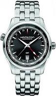 Hamilton汉米尔顿 Jazzmaster 爵士大师 GMT H32695131 男士机械表