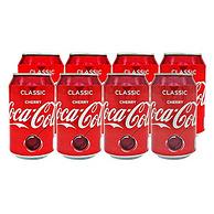 镇店之宝:可口可乐 樱桃口味汽水330ml*8罐