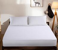让床垫远离螨虫   爱斯基摩人精梳棉床笠 1.5*2m