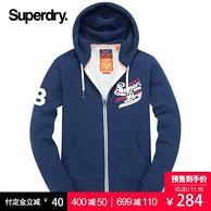 20日0點、雙11預售:Superdry 極度干燥 男士衛衣