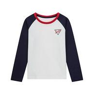 優衣庫制造商 Maxwin 馬威 男童 長袖T恤