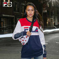 双11预售:Fila 斐乐 Fusion X Staple 情侣款 运动卫衣 319元 需定金40元(专柜价640元)