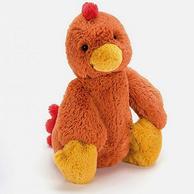 安抚玩偶,jELLYCAT 邦尼兔 害羞公鸡 中号31cm