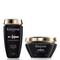 Kérastase 卡詩 黑鉆凝時魚子醬 洗護套裝(洗發水250ml+發膜200ml)