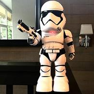 可爱造型+语音对话,UBTECH 星球大战 First Order Stormtrooper 机器人