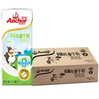 新西兰进口 Anchor 安佳 儿童牛奶 190ml*27盒*2件