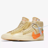 10点、新品:Nike 耐克 blazer X off white 男子运动鞋