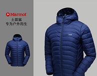双11预售:美国Marmot 土拨鼠 L81220 男子羽绒服