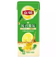 白菜价!Lipton立顿 英式果茶 柠檬味果味茶饮料 250ml*24 整箱