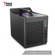 Lenovo 聯想 Legion 拯救者 刃9000 GTI 臺式電腦主機(i7-9700K、16GB、512GB+2TB、RTX 2070)