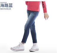 大额券!Levi's 李维斯 2018新款韩版儿童牛仔裤