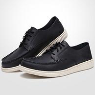 双11预售:商场同款,Skechers 斯凯奇 65504 男士休闲皮鞋