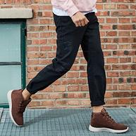双11预售:小神价!Sprandi斯潘迪 男士反绒皮高帮短靴