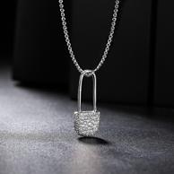 AITEKA 爱缇卡 HHB12 925银别针项链