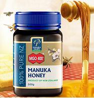 新西兰进口!Manuka Health 蜜纽康  500g MGO 400+ 纯天然活性麦芦卡蜂蜜