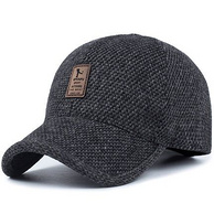 加厚保暖 冠优福 中老年 男士 棒球帽