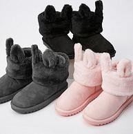 商场同款,Meters bonwe 美特斯邦威 202664 可拆卸雪地靴