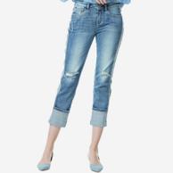 网易严选 女式潮流男友版型牛仔裤
