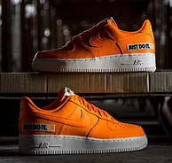 Nike 耐克 Air Force 1 '07 LV8 JDI LTHR 男子运动鞋  少码