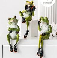 双11预售:北欧风,BOMAROLAN 堡玛罗兰瑜伽青蛙 小摆件